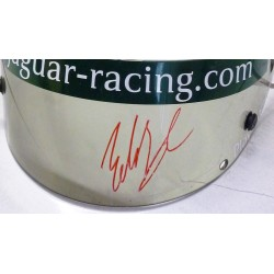 signed Eddie Irvine / Jaguar Racing visor