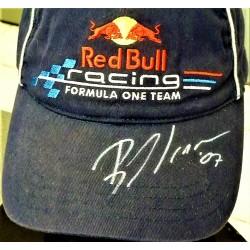 Bruno Senna signed Red Bull Cap
