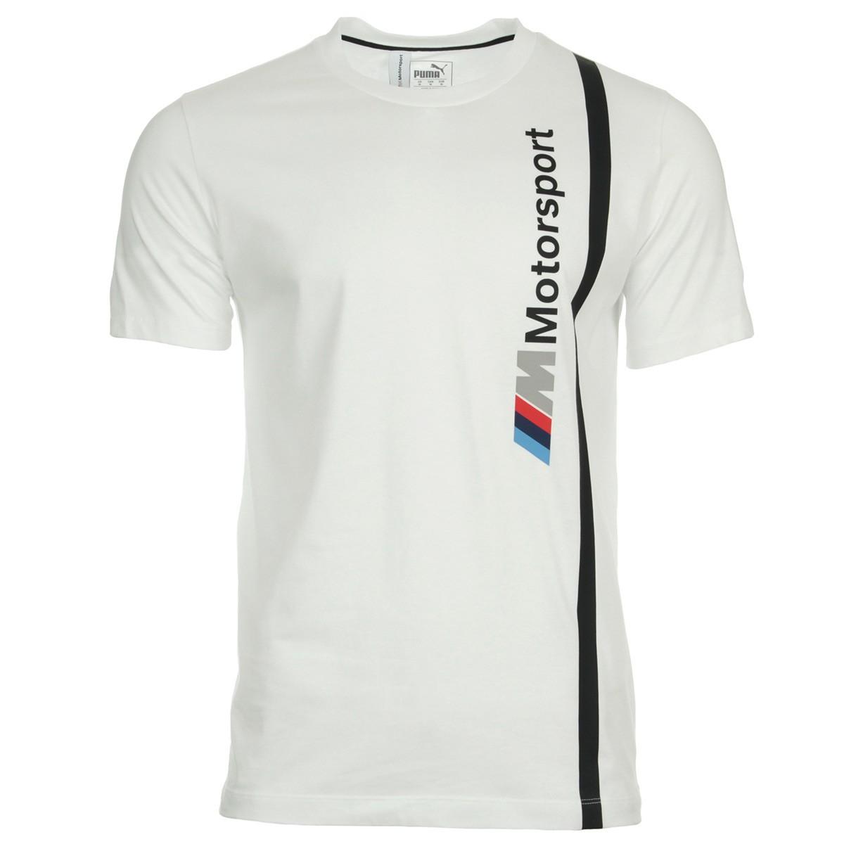 PUMA Mens BMW MMS Motorsport Logo Tee