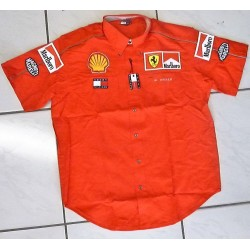 Willy Weber personnal Ferrari Team Shirt with Marlboro.