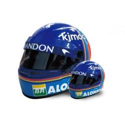 Mini casque 1/2 Fernando Alonso F1 2018