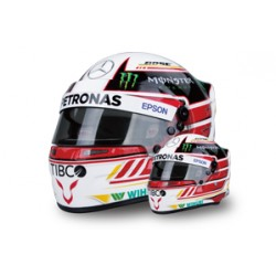 2018 Lewis HAMILTON 1/2 scale mini helmet