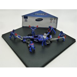 Prost AP01 Diorama O. Panis + 5 mechanics