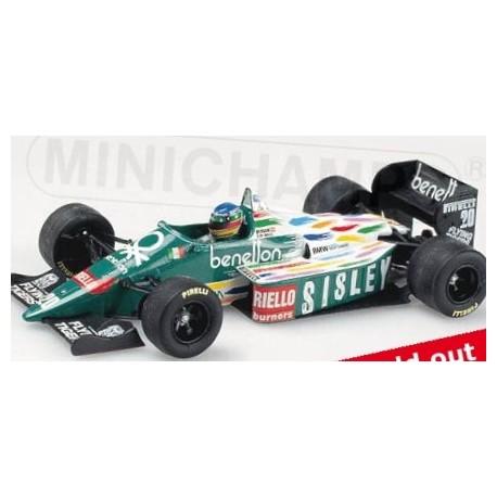 Benetton BMW B186 Gerhard Berger