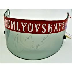 Signed Rubens BARRICHELLO / JORDAN GP visor
