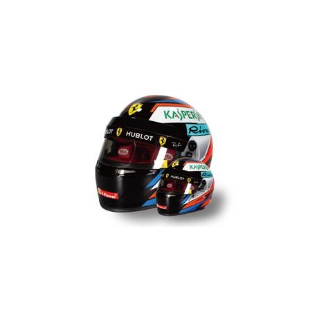 2018 Kimi Räikkönen 1/2 scale mini helmet