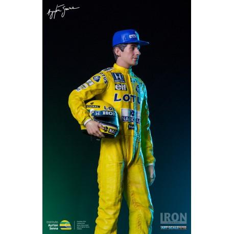 Ayrton Senna 1987 Monaco GP figurine