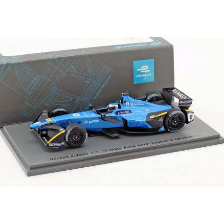 Renault e.dams Z.E.16 Formula E Nico Prost / Hong Kong ePrix