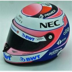 Mini casque 1/2 Sergio Perez 2018