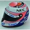 2018 Sergio Perez half scale mini helmet