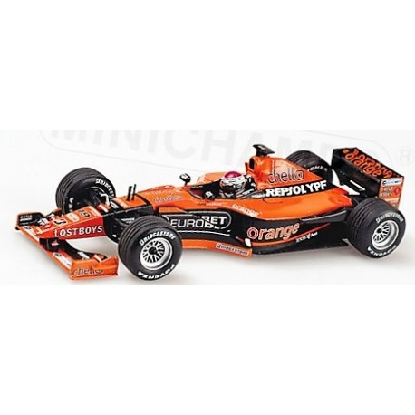 Arrows Supertec A21 Jos Verstappen