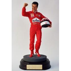 Michael Schumacher Ferrari 2000 figurine