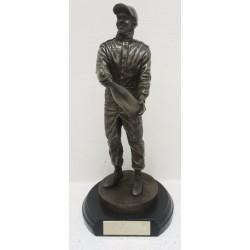 Figurine effet bronze Lewis Hamilton 5 x Champion du monde