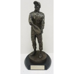 Lewis Hamilton 5 times World Champion Bronze effect 1:9 figurine