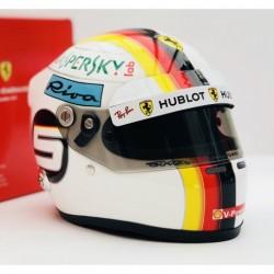 Mini casque 1/2 Sebastian Vettel 2018