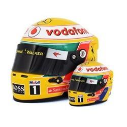 Mini casque 1/2 Lewis Hamilton 2012