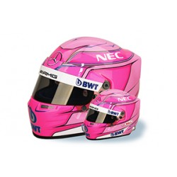 Mini casque 1/2 Esteban OCON 2018