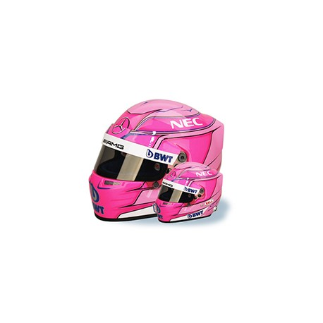 2018 Esteban OCON 1/2 scale mini helmet