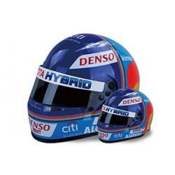 Mini casque 1/2 Fernando Alonso vainqueur 24hrs Le Mans 2018