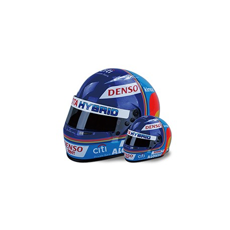 2018 Fernando Alonso WEC mini helmet scale 1/2