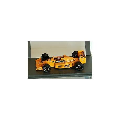 Lotus 100T N.Piquet 3rd Brazil GP 1988