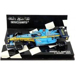 Renault R25 F.Alonso champion du monde 2005