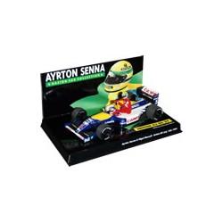 Ayrton SENNA + Nigel MANSELL British GP 1991