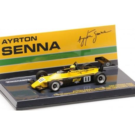 Van Diemen rf82 ayrton senna Fórmula Ford 2000 silverstone 1982 1:43 Minichamps