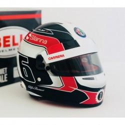 2018 Charles Leclerc mini helmet scale 1/2