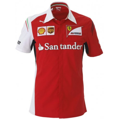 Ferrari short sleeves Team Shirt
