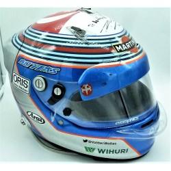 Casque original Valtteri Bottas / GP de Singapour 2014