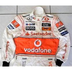 Combinaison Lewis Hamilton / McLaren 2008 GP du Brésil show