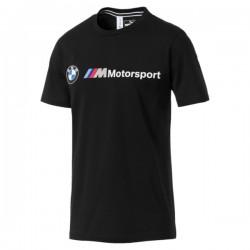 T-Shirt BMW MMS Logo, noir