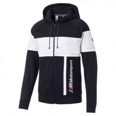 BMW Motorsport Hooded Sweat Jacket, Team blue