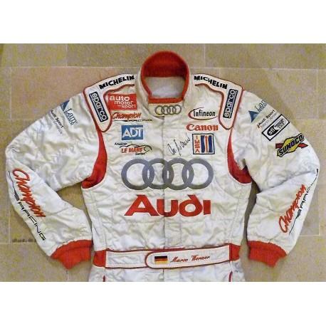 2004 Marco Werner / Audi Le Mans suit