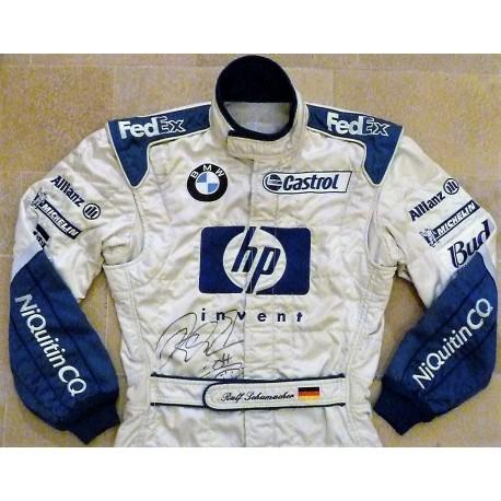 2003 signed Ralf Schumacher / Nürburgring GP suit
