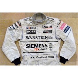 2003 David Coulthard / McLaren suit