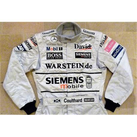 2003 David Coulthard / McLaren suit