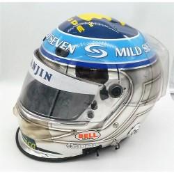 signed 2004 Jarno Trulli / Renault F1 helmet