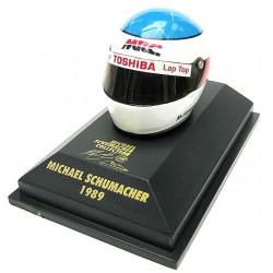 Casque Michael Schumacher 1989 échelle 1/8