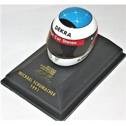 Casque Michael Schumacher 1991 échelle 1/8