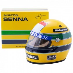 Mini Casque 1/2 Ayrton Senna 1988