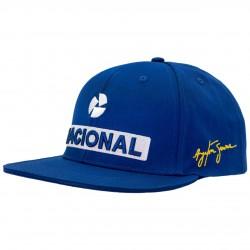 Ayrton Senna NACIONAL Cap with flat brim