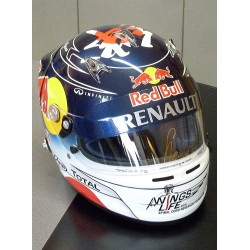 Sebastian VETTEL/ 2011 Japan GP replica helmet