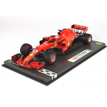 Ferrari SF71-H Sebastian VETTEL 50th victory in F1