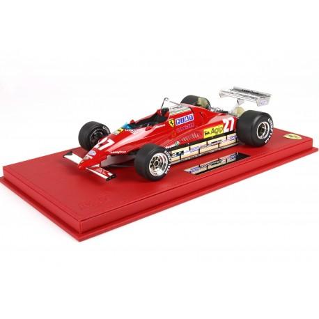 Ferrari 126C2 Gilles Villeneuve Belgium GP 1982
