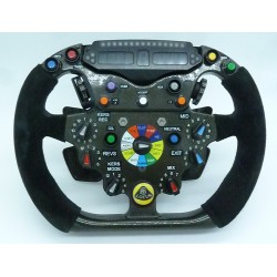 Lotus-Renault R30 steering-wheel