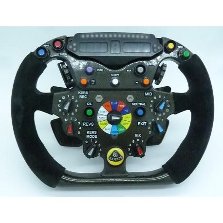 Lotus-Renault R30 steering-wheel