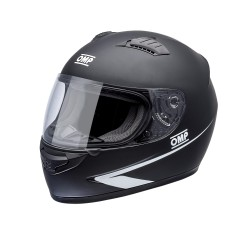 OMP Helmet Circuit black matt