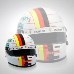 Mini Casque 1/2 Sebastian Vettel 2019